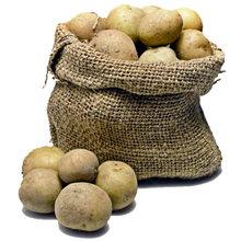 Картофель по соломе.